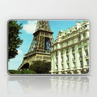 Sunny Day In Paris Laptop & iPad Skin