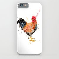 iPhone & iPod Case featuring Mr Rooster  by Meg Ashford