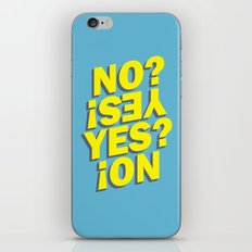No? Yes! Yes? No! iPhone & iPod Skin