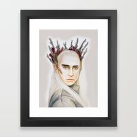 Thranduil Framed Art Print
