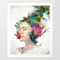 Breathe Me Art Print