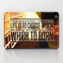 Which Bridge To Cross and Burn iPad Case