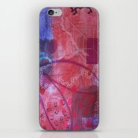 Rouge abstract iPhone & iPod Skin