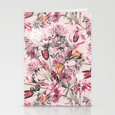 RPE FLORAL XI PINK Stationery Cards