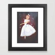 Swoosh Framed Art Print