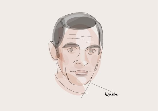 Portrait: Sean Connery Art Print