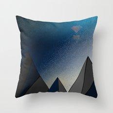 A Bid Farewell Throw Pillow
