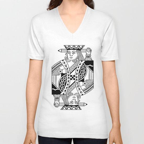 Creativity Is King V-neck T-shirt