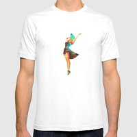 Cosmic Pinup # 2 Mens Fitted Tee White SMALL