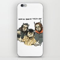 Where The Beastie Things… iPhone & iPod Skin