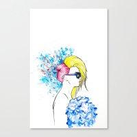 amen fashion Canvas Print