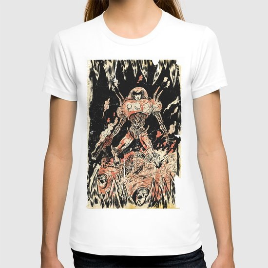 Dogs of Mars pin-up T-shirt