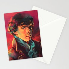 A Study in Pink Stationery Cards