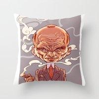Mafioso Throw Pillow
