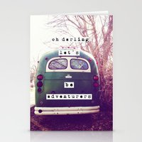 Oh Darling, Let's Be Adv… Stationery Cards