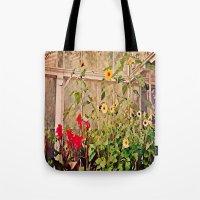 Sunflower Gardens Tote Bag