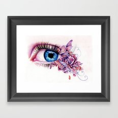 The Soul Would Have No Rainbow If The Eyes Had No Tears Framed Art Print