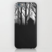 iPhone Cases featuring Wild Woods by dan elijah g. fajardo