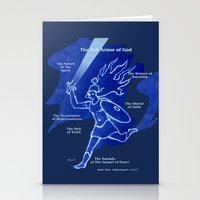 Warrior Girl 5 Stationery Cards