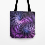 Fractal A Moment In Time Tote Bag