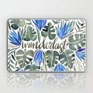 Tropical Wanderlust – … Laptop & iPad Skin