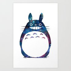 My Neighbor from Outer Space Art Print