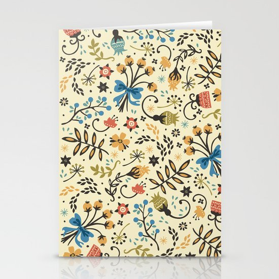 Floral Bloom Stationery Card