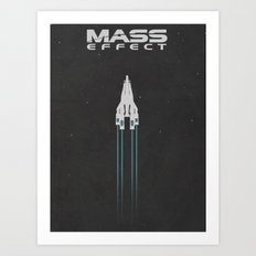 Mass Effect Art Print