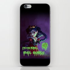 I'm the real evil queen iPhone & iPod Skin