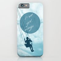 iPhone & iPod Case featuring Wings by AA Morgenstern