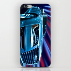 Audi R8 Blur iPhone & iPod Skin