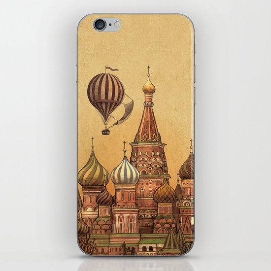Trip to Moscow iPhone & iPod Skin