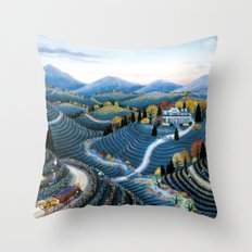 Hudson Valley by Kathy Jakobsen Throw Pillow