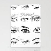 Many Eyes Stationery Cards
