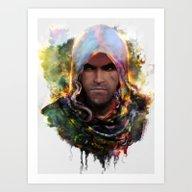 Witchers Creed Art Print