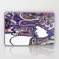 Salmon Techno Laptop & iPad Skin