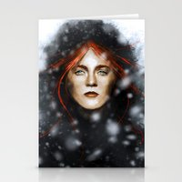 KISSED BY FIRE Stationery Cards