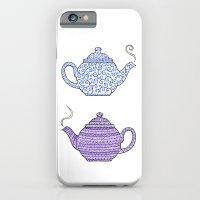 iPhone & iPod Case featuring Patterned Teapots by Mariya Olshevska
