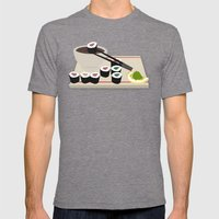 Maki? Mens Fitted Tee Tri-Grey SMALL