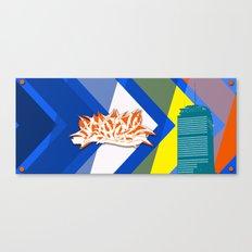 Beantown Graffiti Canvas Print