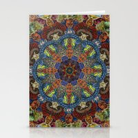 Hallucination Mandala 2 Stationery Cards