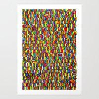 The Masses Art Print