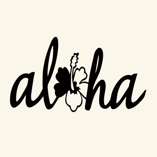 Aloha flower Art Print