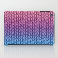 Chunky Knit Pattern In P… iPad Case