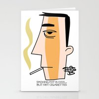 Cigarettes Stationery Cards