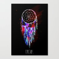 Dream - Night edition Canvas Print
