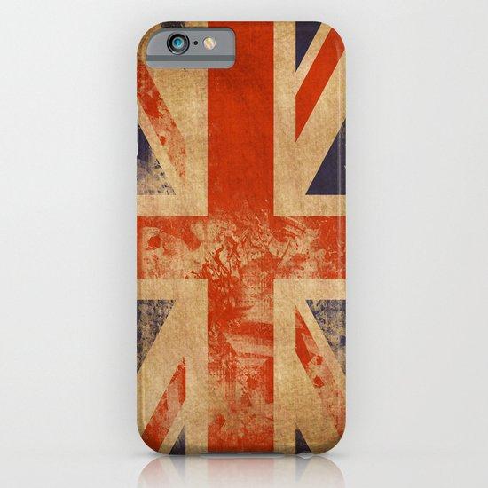 United Kingdom Flag iPhone & iPod Case