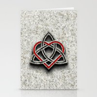 Celtic Knotwork Valentin… Stationery Cards