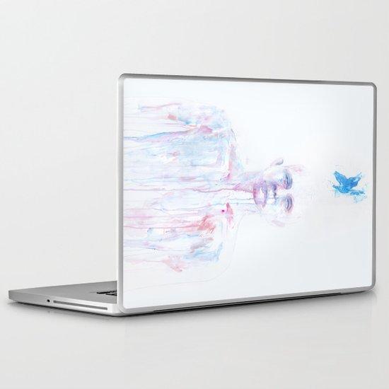Last Blue Breath Laptop & iPad Skin