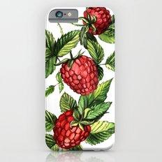 Raspberries iPhone 6s Slim Case